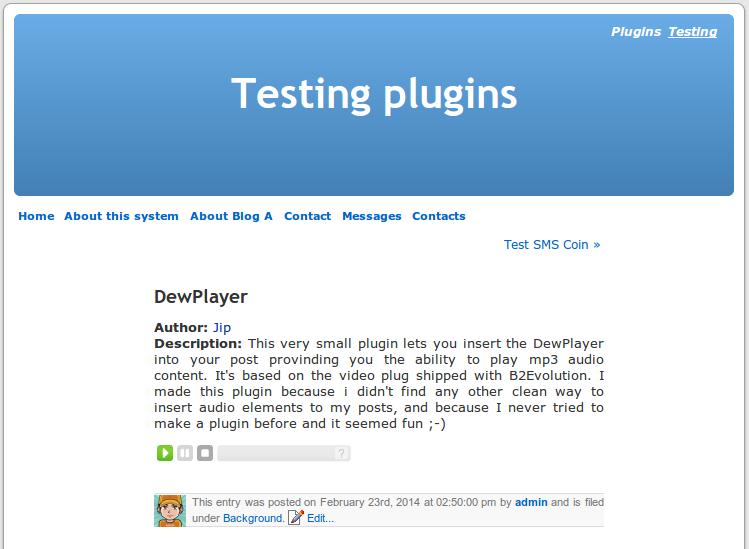 DewPlayer
