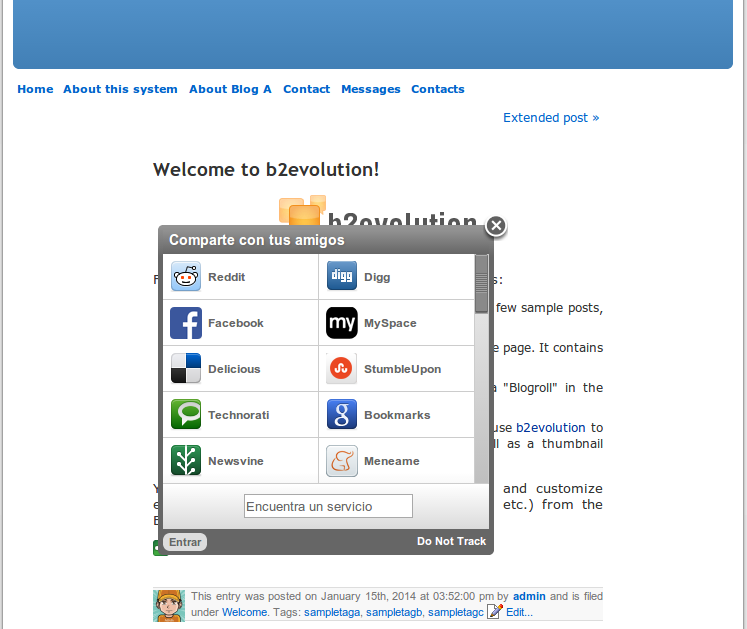 ShareThis Plugin (OLD)
