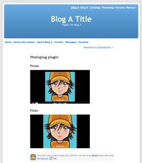 Photoplug Plugin