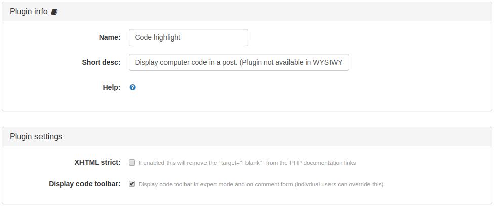 Code Highlight Plugin