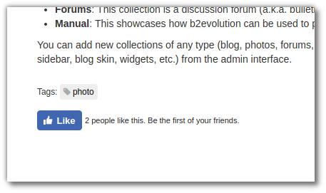 Facebook Widget Plugin
