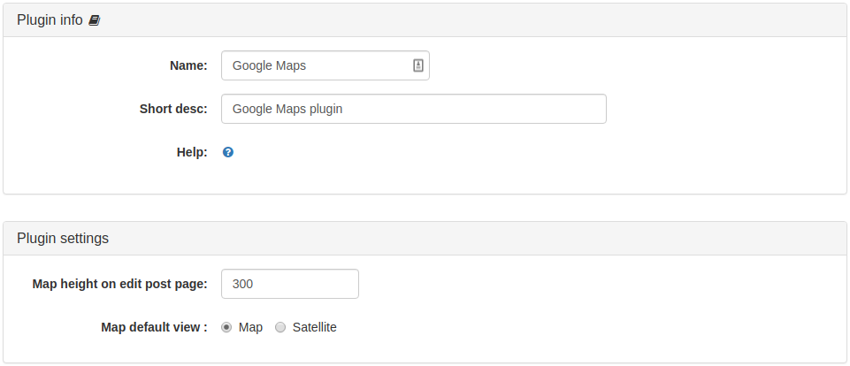 Google Maps Plugin